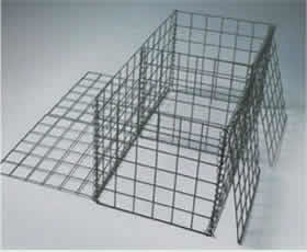 Welded Mesh Gabions, Square Holes